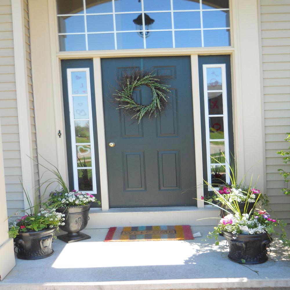 Flowers For Front Door