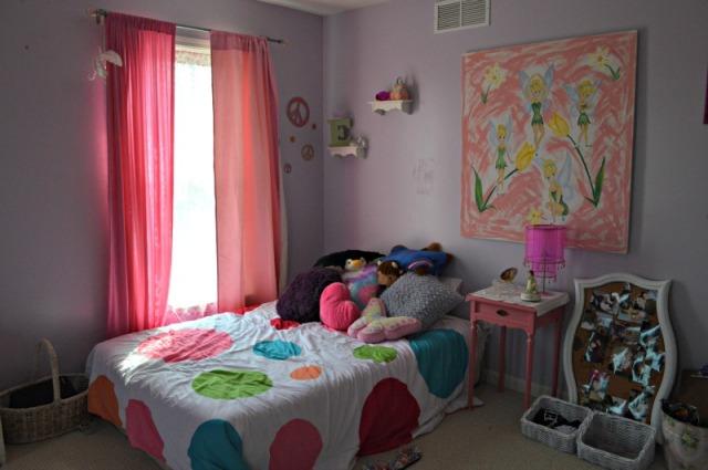 Emma's room bed in corner web