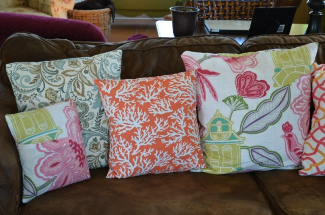 Pillows made by Chernee 1