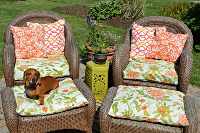 how to make patio chairs