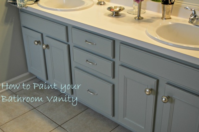 how to paint your bathroom cabinets oh the vanity 3 paint colors later chernee s house 17245