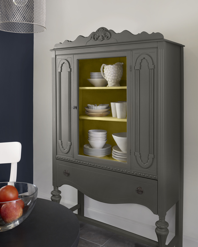 Benjamin Moore Starts A Trend With Stenciled Kitchen: Conquering The Art Of Stenciling- Casablanca Trellis