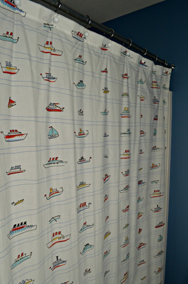shower curtain kids cv