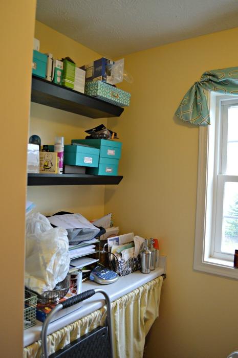 shelves open laundry web