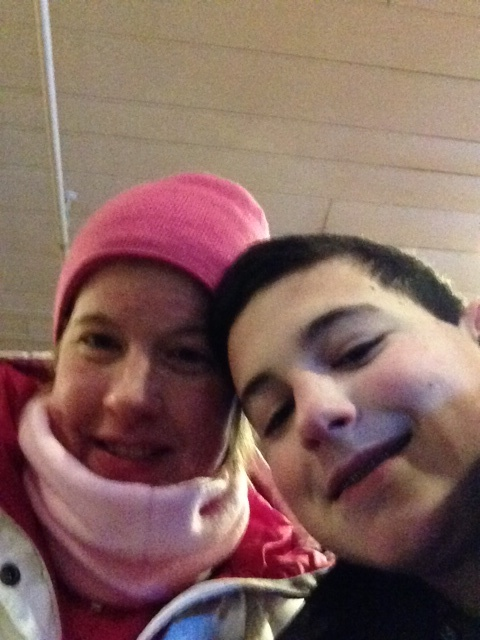 Peter and I at Mt Snow