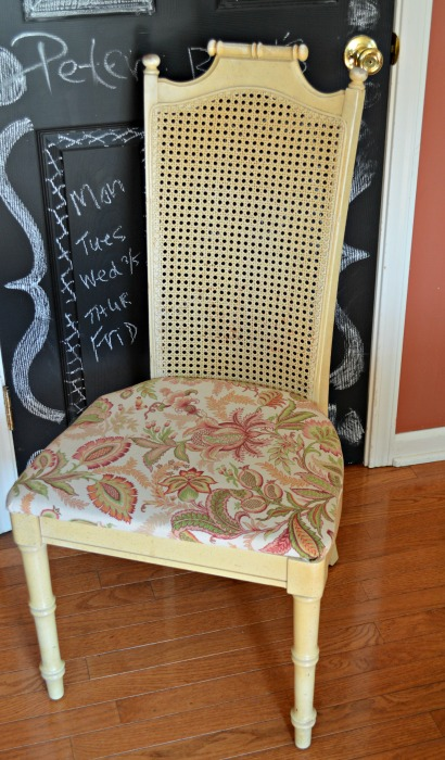 yellow vintage kitchen chair web