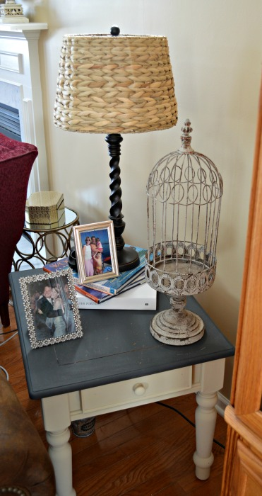 end table finished web
